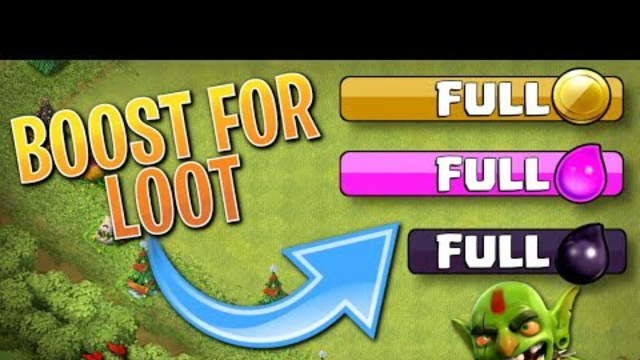 The POWER of BOOSTS!  TH8 Clash of Clans