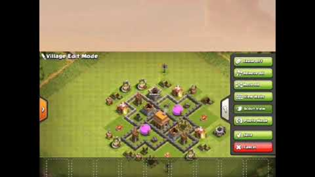 Best Defense Plan for Town Hall 5 Clash of Clans 2019