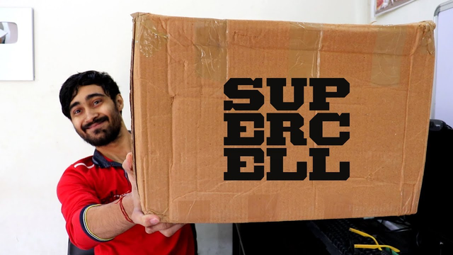SUPERCELL GIFTBOX UNBOXING ,BEST VIDEO IN THIS CHANNEL TILL NOW .Clash of Clans India