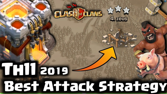Coc, Th11 3 star War Strategy 2019, Walker 456, Clash of Clans, india hindi