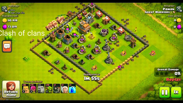 Clash of clans- Attack statergy