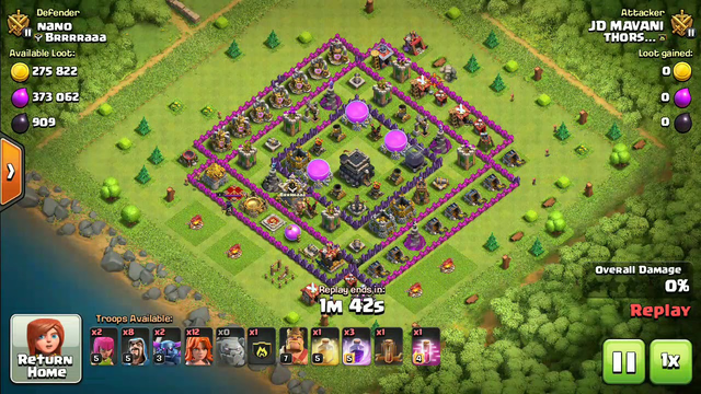 New 3 star attack in Clash of Clans