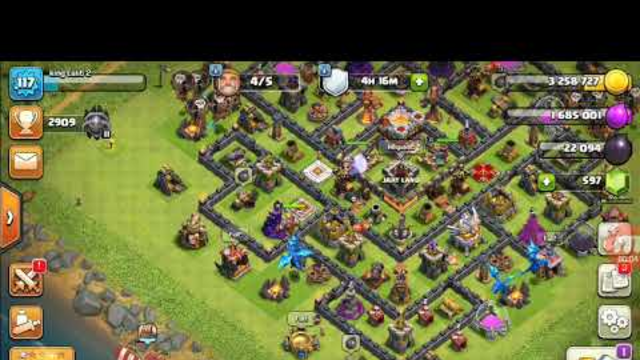 My first war in clash of clans with my oven clan