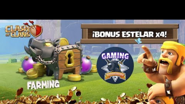 CLASH OF CLANS - FARMING