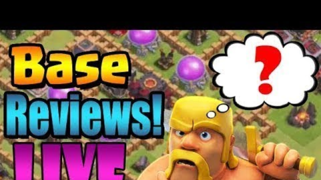 My Clash of Clans Stream live base visiting