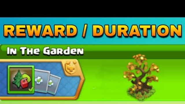 Coc upcoming event 2019 - In the garden full information clash of clans