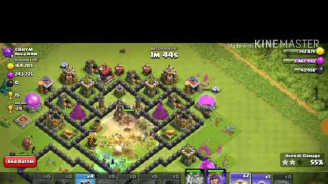 How to get an easy 3 star on clash of clans!
