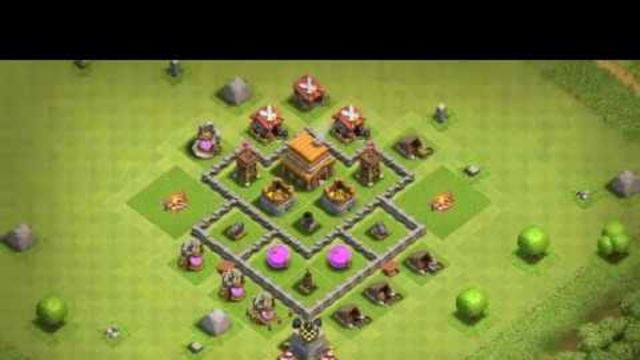 Foto Base Coc Th 4 Terkuat 11