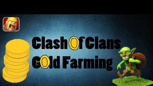 Clash of Clans - Gold Farming