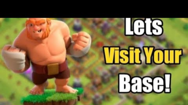 let's visit base #clash of clans # coc live # clash of clans india