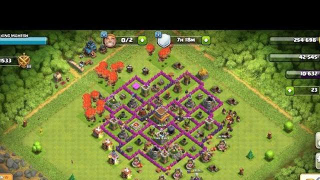 Clash of clans trick