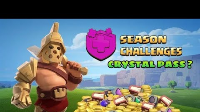 CRYSTAL PASS UPDATE IS COMING..........?  // UPDATE CONCEPT// CLASH OF CLANS//