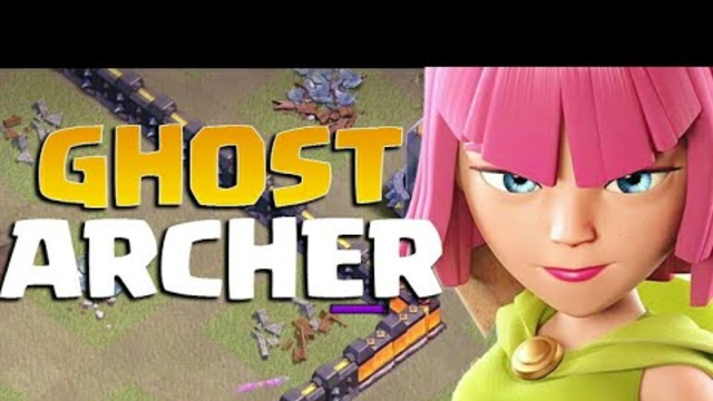 Omg!! My Archer Become Invisible | Ghost Archer | Biggest Glitch 2019 in coc | Clash of clans Glitch