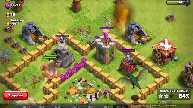 Eerste clash of clans video.       (sorry voor het geleid dat ga ik nog regelen)