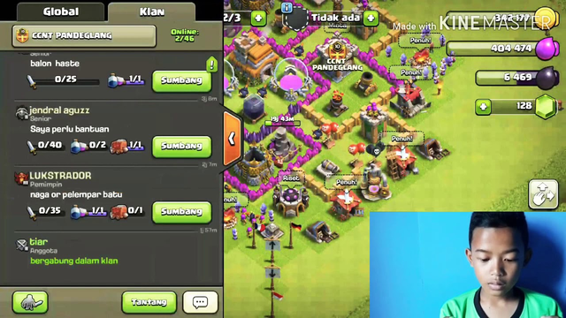 GAMEPLAY COC (clash of clans) #1
