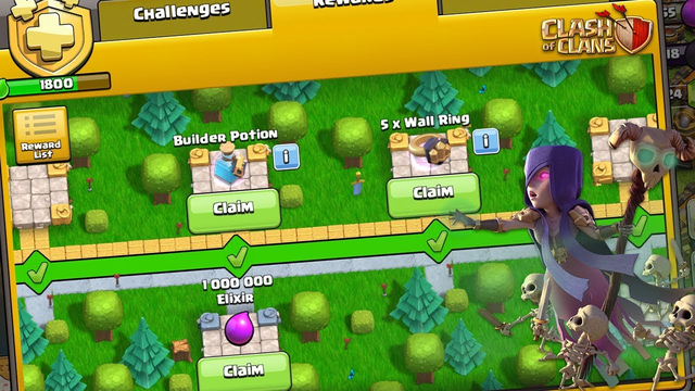 Let's Do Clan Games & Season Challenges | Close to Get Gladiator Skin | Clash of Clans |