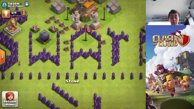 weird clash of clans bases