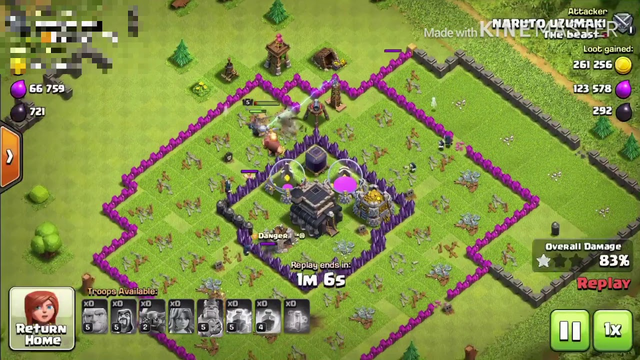 Clash of clans Never Rush!!