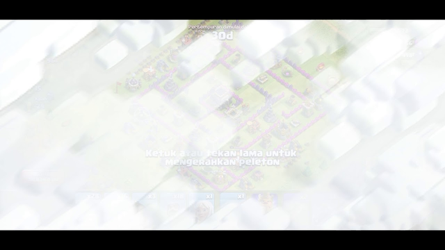Clash Of Clans TH 8 Attack : 400 gold and elixir