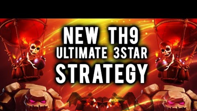 EQ + LALOON NEW ATTACK STRATEGY FOR TH9 , CLASH OF CLANS