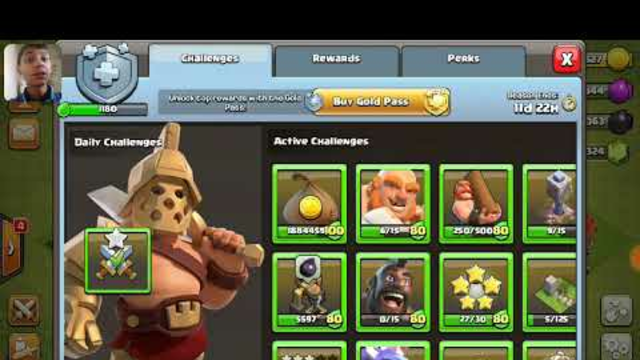 Let's play clash of clans....