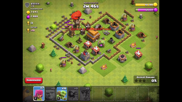 Best attacking strategy for early town halls in coc