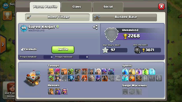 My all the ids || Clash Of Clans