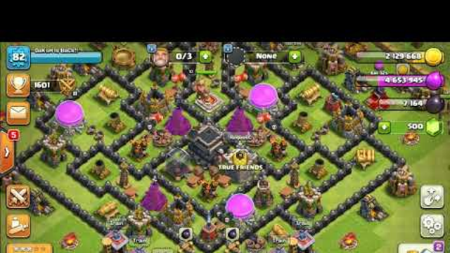 Clash of Clans Gameplay and my base showout | Send me friend request