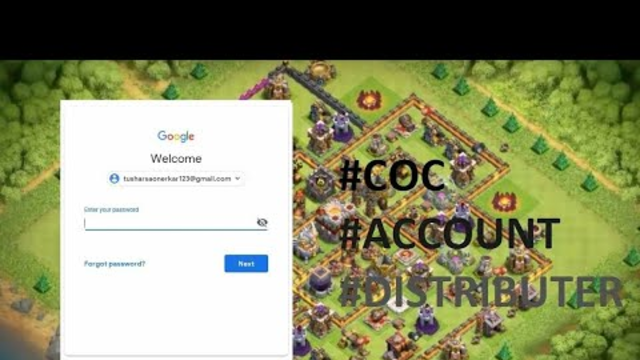 Clash of Clan - COC - Free account Th12 - Daily Account Giveaway - 19 April - PUBG