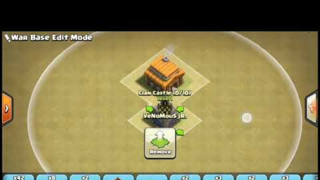 COC  (clash of clans) base th3