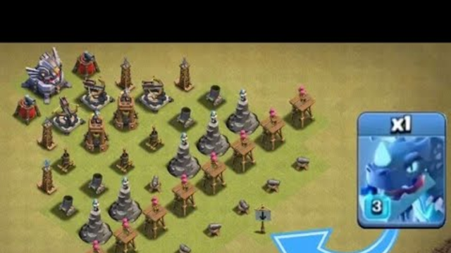 MAX TROOPS vs LEVEL ONE DEFENCES!!  fire  IMPOSSIBLE TROOP CHALLENGE IN CLASH OF CLANS!  fire   720