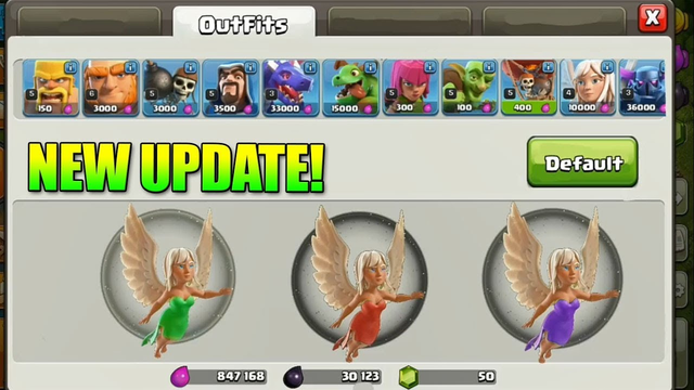 NEW HEALER'S AND ARCHER SKIN - NEW UPDATE CONCEPT|CLASH OF CLANS | SHIVANG|
