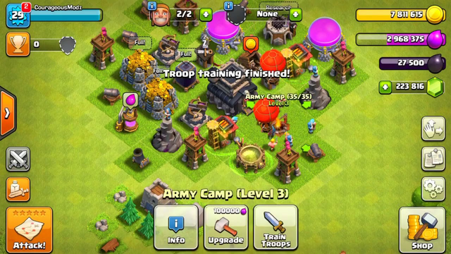 clash of clans unlimited everything download mod apk