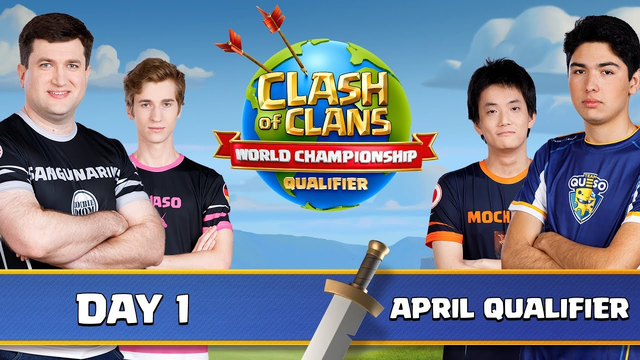World Championship - April Qualifier - Day 1 - Clash of Clans