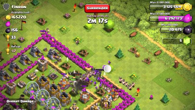 Clash of Clans  Farm Strategy - Town Hall 9 4)