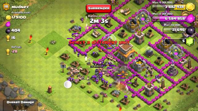 Clash of Clans  Farm Strategy - Town Hall 9 7)