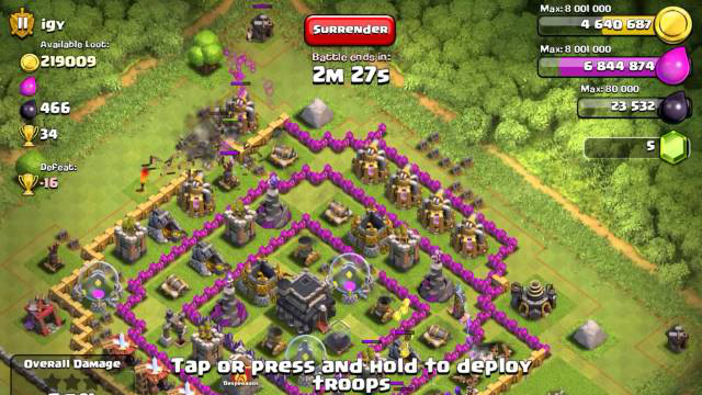 Clash of Clans  Farm Strategy - Town Hall 9 5)