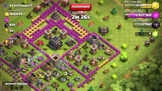 Clash of Clans  Farm Strategy - Town Hall 9 9)