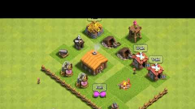 Clash of clans town hall 1 to 12 max