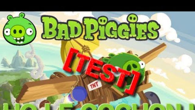 [Test] Bad Piggies ! Ho le cochon !