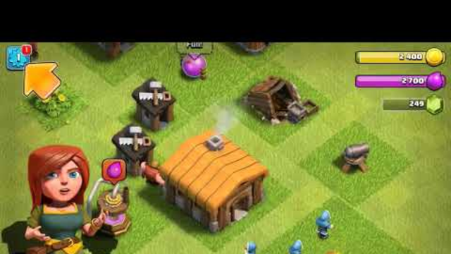 *FIRST* ever clash of clans video town hall 1/2
