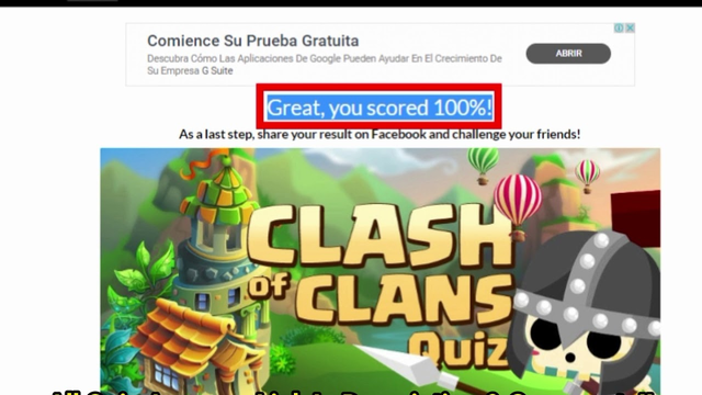 Gimme More Clash of Clans Quiz Answers