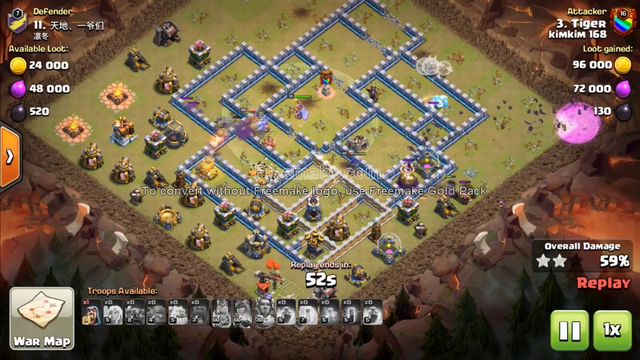 OMG!! Strongest Attack PeBoBat Strategy Still Easy 3-Star TH12,  KimKim168 ( Clash of Clans )