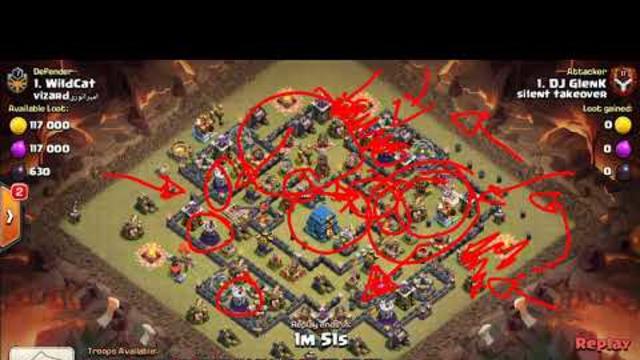 Clash Of Clans TH12 Bat Slap 3 Star Attack Strategy Vs Ring Base