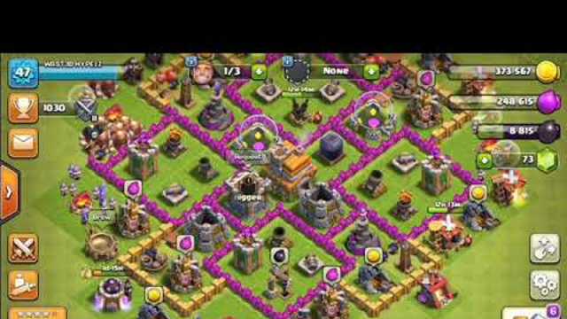 COC BEST TH7 BASE FOR WAR! | ASMR CLASH OF CLANS