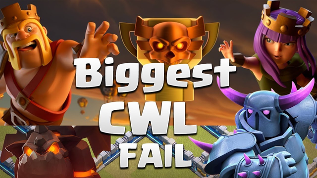 Biggest CWL FAIL Ever - Who Failed??? - Funny Video - Clash of Clans