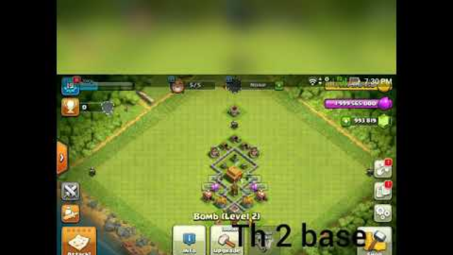 Clash of Clans Base From Th1-Th7 #Part1