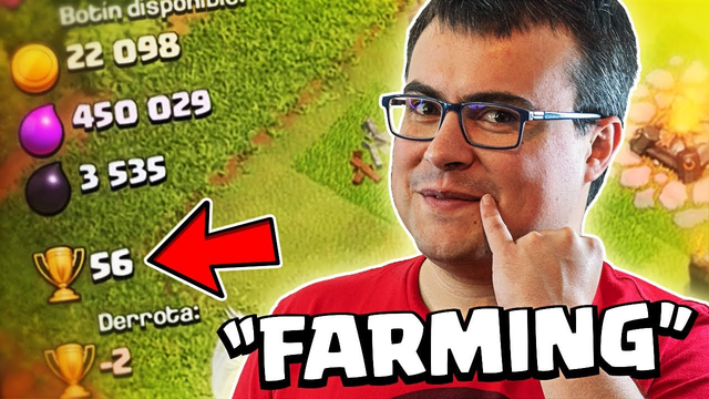 HACEMOS EL MAL DURANTE EL FARMING   Clash of Clans