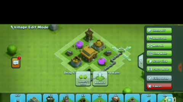 Base Clash of Clans Town Hall 3