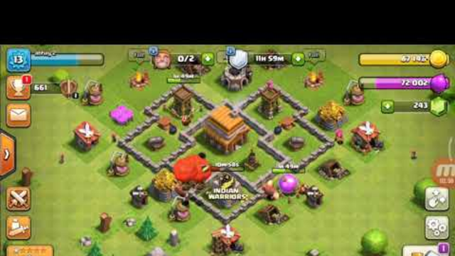 Coc season 1 th 4 max out rush to max by challanger gamer